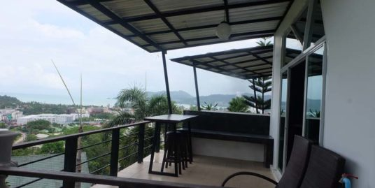 Two bedrooms House with Sea View for Rent – Patong /Na nai